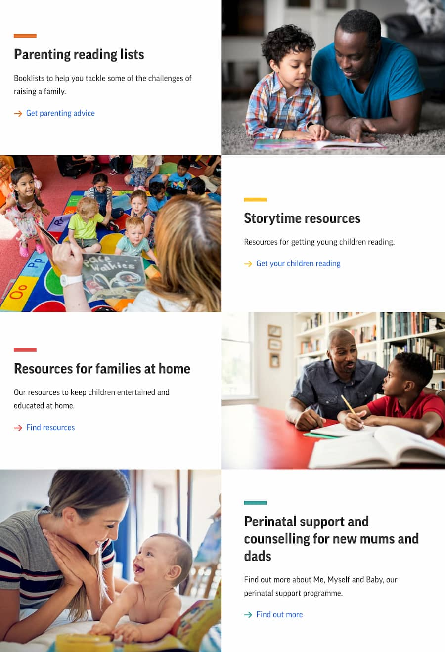 Screenshot of the Suffolk Libraries website.